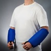 PPSS Slash Resistant Arm Guards V1 with Added Protection Blue
