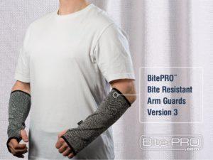 Biss-Schutzkleidung Armschonr Armschutzer
