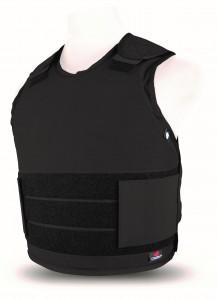500113 - CV1 - PPSS Covert Bullet Resistant Vests - black - left - high res