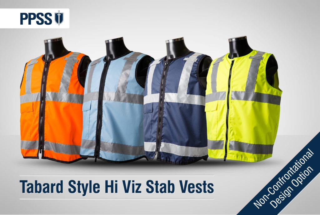 PPSS Tabard Style Stab Resistant Vests
