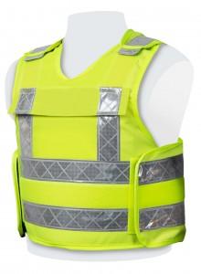 500119 - PPSS Hi Viz Bullet Resistant Vest Model