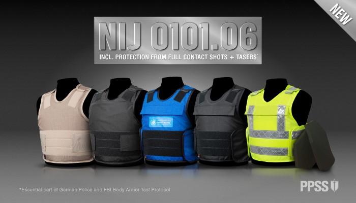 PPSS Group | Launch of New NIJ Std 0101.06 Level IIIA Bullet Resistant Vests PPSS Group | Launch of New NIJ Std 0101.06 Level IIIA Bullet Resistant Vests