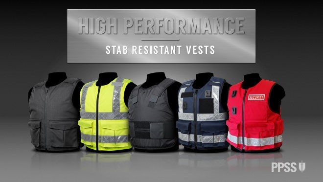PPSS Stab Resistant Vests
