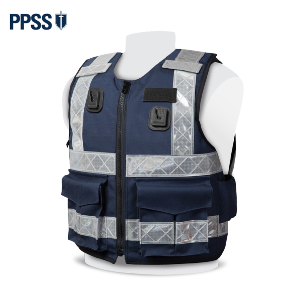 PPSS Stab Resistant Vests - Navy Reflective Tape