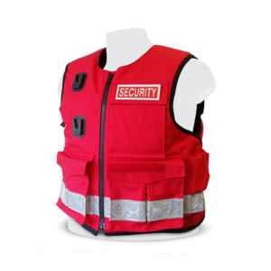 PPSS Stab Proof Vests - Bespoke Red Security
