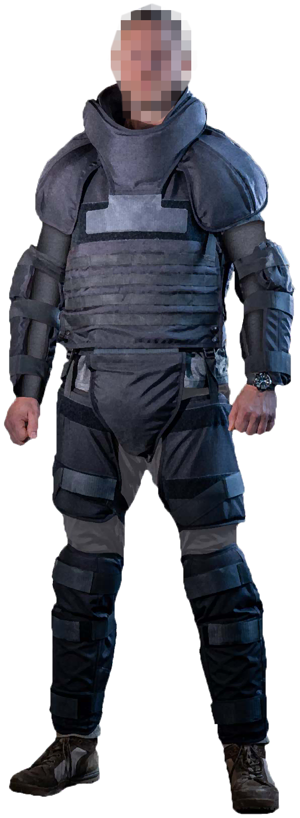 Stab Resistant Anti Riot Suit