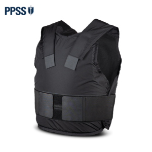 Stab Resistant Body Armour Black Covert