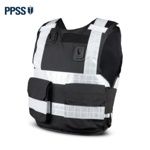 Stab Resistant Body Armour Black Hi-Vis Overt