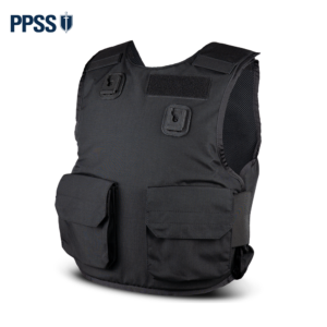 Stab Resistant Body Armour Black Overt