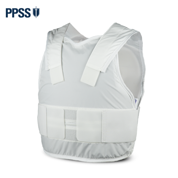 Stab Resistant Body Armour White Covert