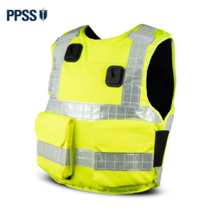 Stab Resistant Body Armour Yellow Hi-Vis Overt