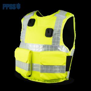 Stab Resistant Body Armour Yellow Hi-Vis Overt